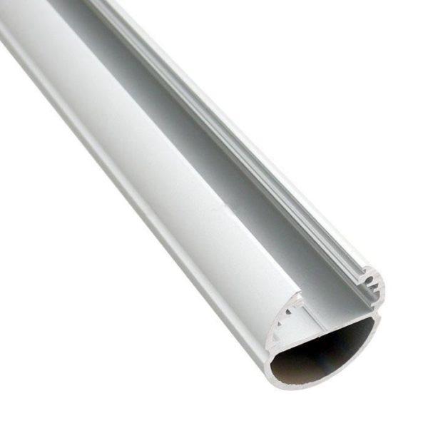 Alumiiniumprofiil OVAL led ribale 1m