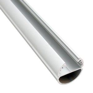 Alumiiniumprofiil OVAL led ribale 2m