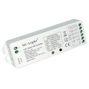 Kontroller 12/24V ühe- ning kahevärvilisele RGB,RGBW, RGB+CCT