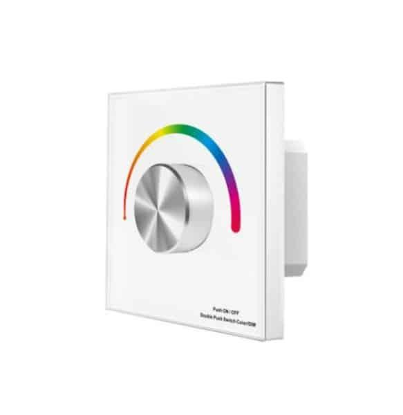 Seina süvistatav dimmer RGB led ribale 12/24V-6358